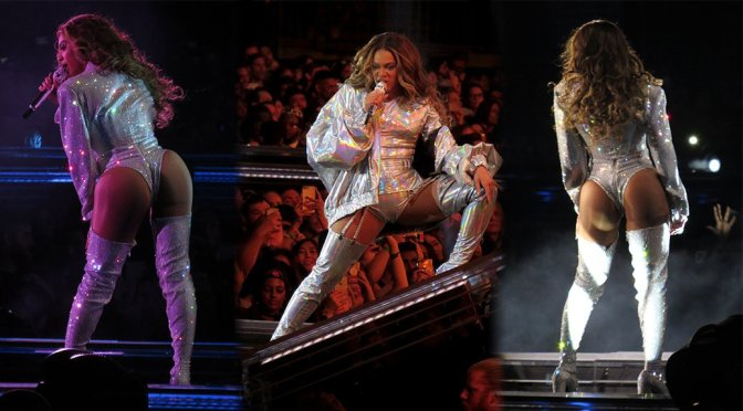 Beyonce Performing Live in Vancouver
