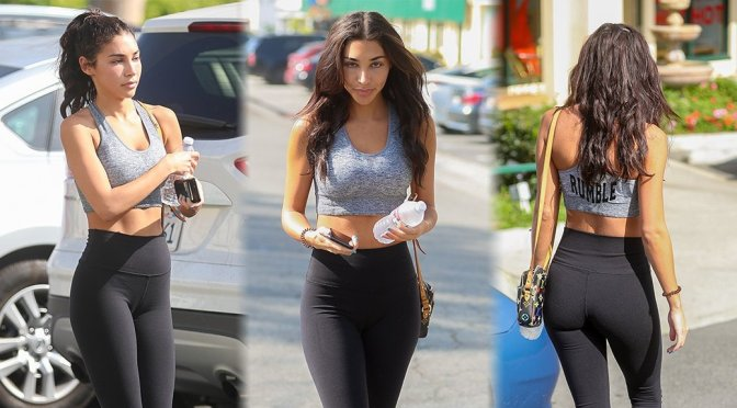 Chantel Jeffries – Sexy Candids in West Hollywood