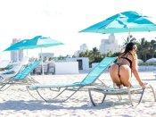 Claudia Romani Skimpy Bikini