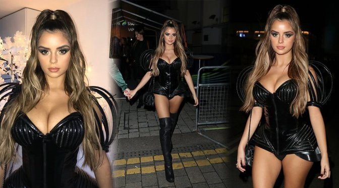 Demi Rose – KISS Haunted House Party in London