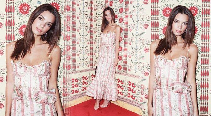 "Emily Ratajkowski – ""Americans in Paris Cocktail"" CFDA Vogue Fashion Fund"