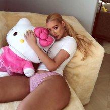 Iggy Azalea Sexy Pink Panties