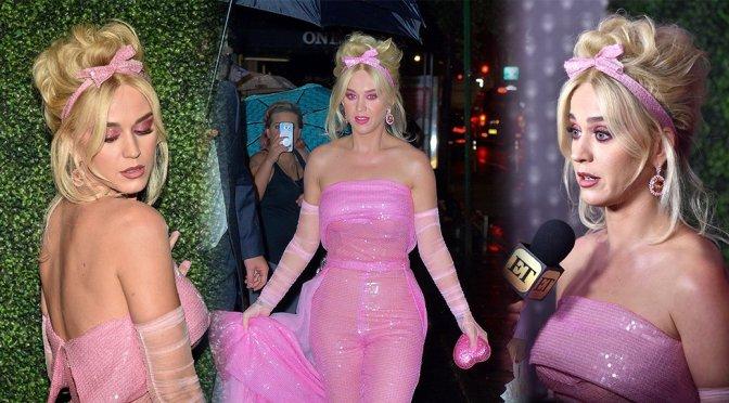 Katy Perry Sheer Dress