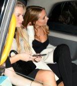 Kimberley Garner And Lottie Moss Sexy Nightout