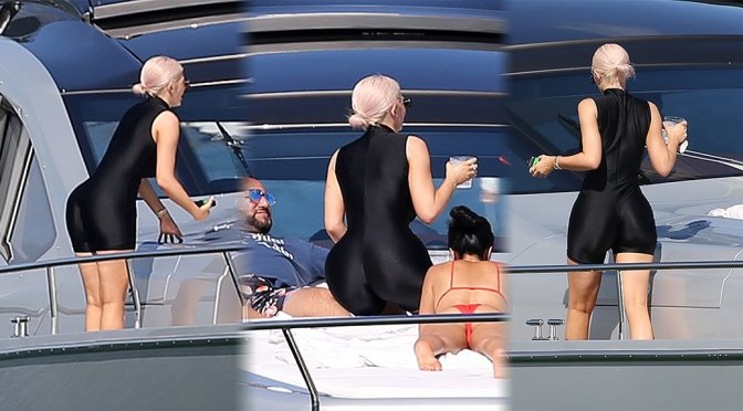 Kylie Jenner – Sexy Candids on a Yacht in Miami