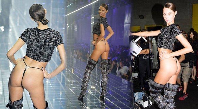 Magdalena Frackowiak – Philipp Plein Fashion Show in Milan