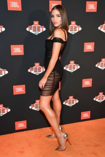 Olivia Culpo Hot Black Dress