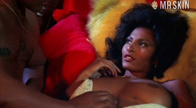 Pam Grier Topless