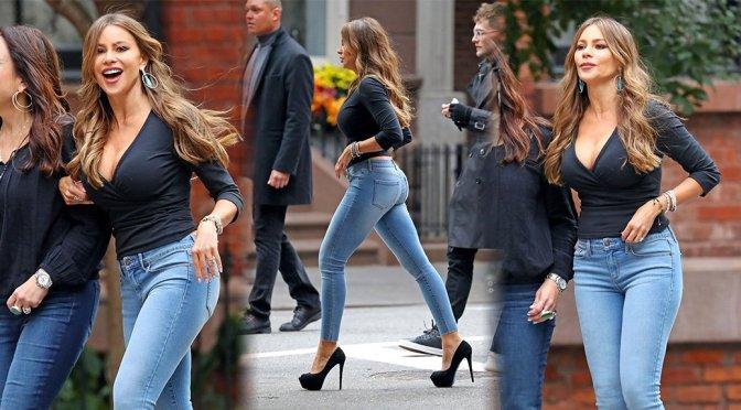 Sofia Vergara – Sexy Photoshoot Candids in New York