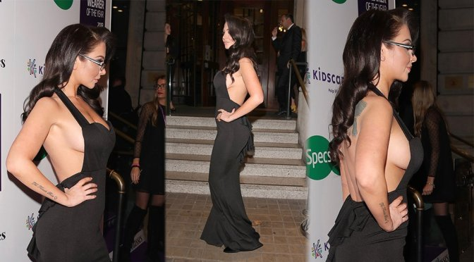 "Tulisa Contostavlos – Specsavers ""Spectacle Wearer Of The Year"" in London"