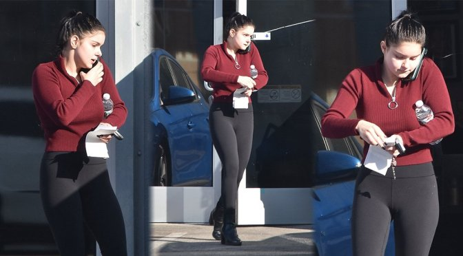 Ariel Winter – Sexy Candids at Gray Studios in North Hollywood