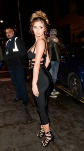 Demi Rose Mawby Hot Cleavage