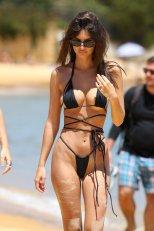 Emily Ratajkowski Perfect Body In Tiny Bikini