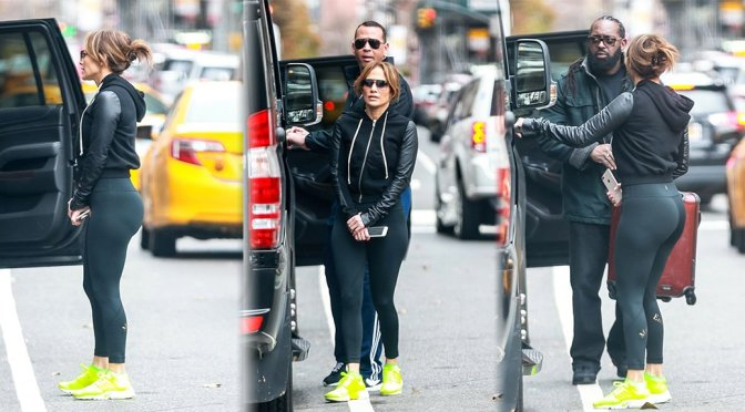 Jennifer Lopez – Sexy Ass Candids in New York