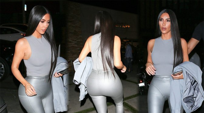 Kim Kardashian – Sexy Candids at Street Dreams Event in West Hollywood