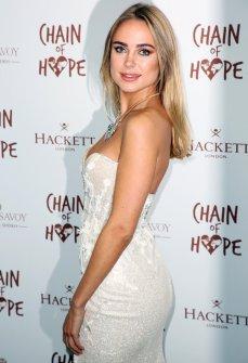 Kimberely Garner Sexy Dress