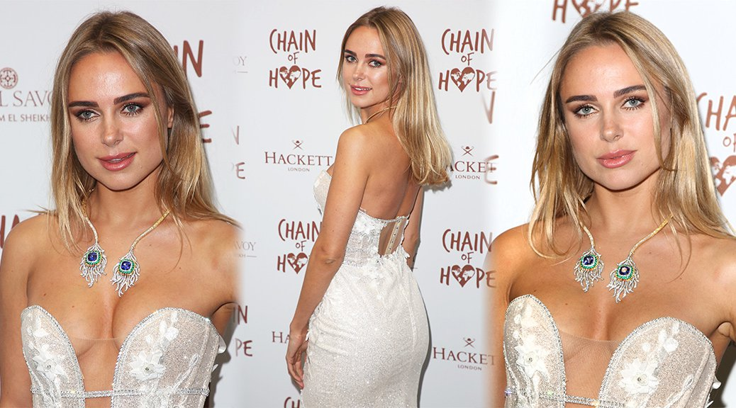 Kimberley Garner - Chain Of Hope Gala Ball 2018 in London