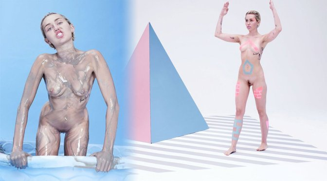 Miley Cyrus – Paper Magazine Naked Photoshoot Uncensored Outakes (NSFW)