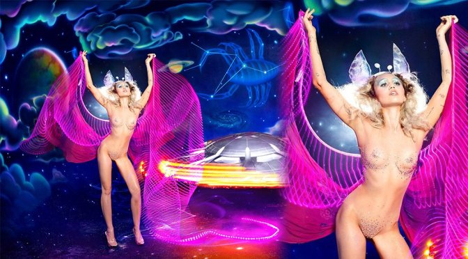 Miley Cyrus – Naked Photoshoot by David LaChapelle (NSFW)
