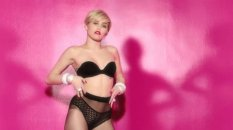Miley Cyrus Sexy In Lingerie