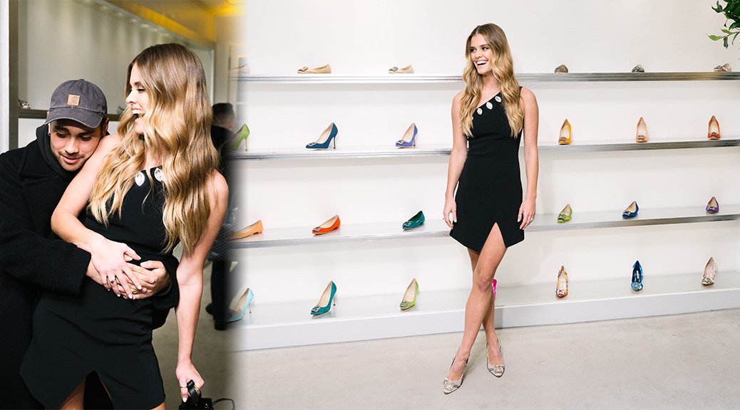 Nina Agdal - Manolo Blahnik's Hangisi Shoe 10 Year Anniversary Celebration