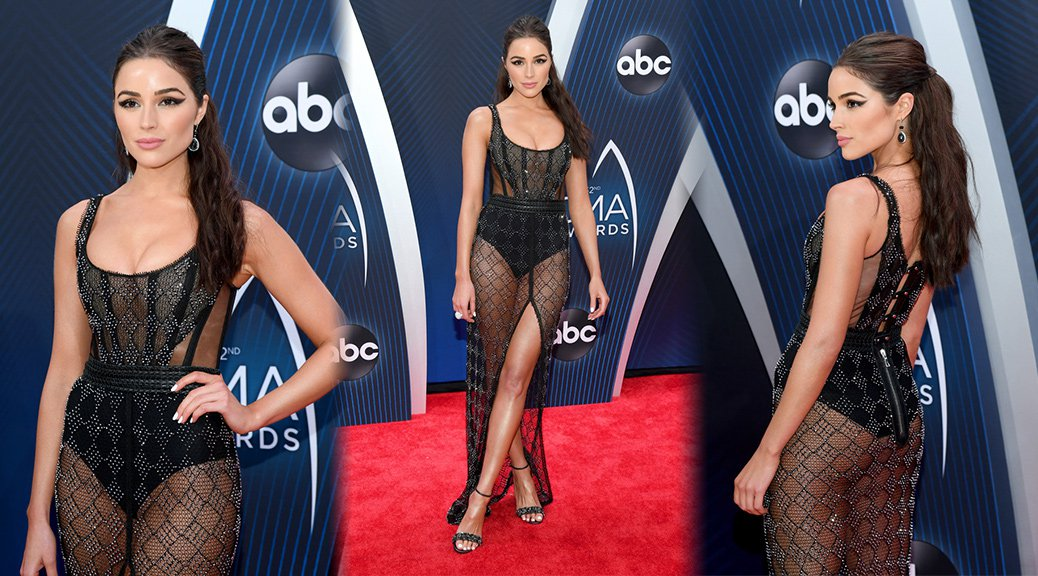 Olivia Culpo - 52nd Annual CMA Awards in Nashville