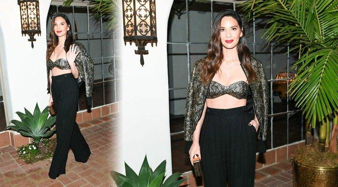 Olivia Munn – Michael Kors x Kate Hudson Dinner in Los Angeles