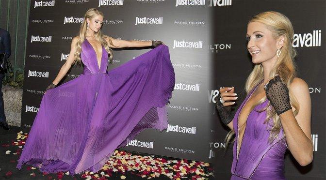 """Paris Hilton – """"ProD.n.a Skincare"""" Launch Party in Milan"""