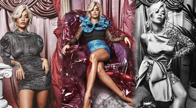 Rita Ora – Glamour Magazine Photoshoot (December 2018)