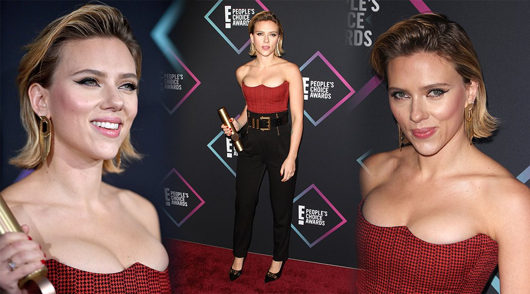 Scarlett Johansson - People's Choice Awards 2018 in Santa Monica