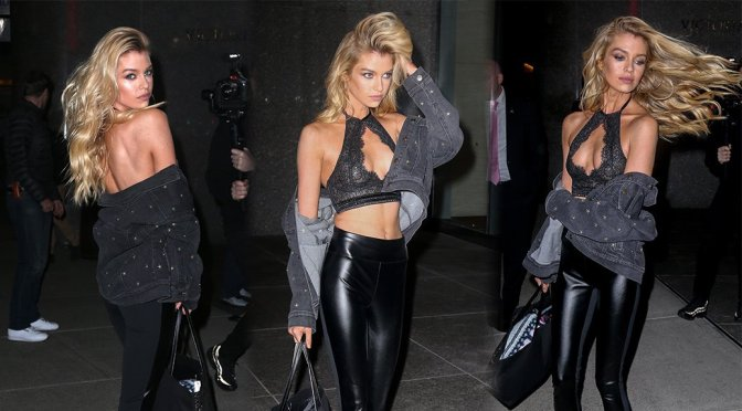 Stella Maxwell – Sexy Candids in New York