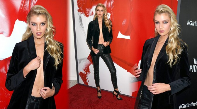 "Stella Maxwell – ""The Girl in The Spider's Web"" Premiere in New York"