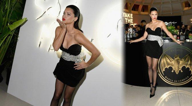 Adriana Lima – BACARDI x The Dean Collection Present No Commission: Miami