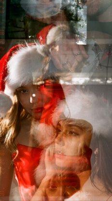Alexis Ren Sexy Christmas Photoshoot