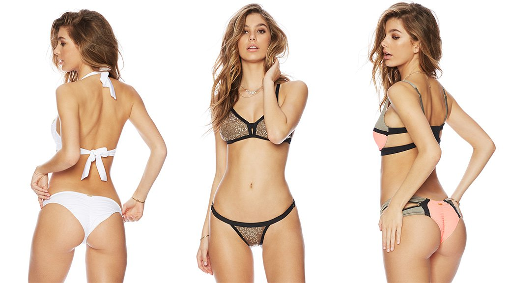 Camila Morrone - Beach Bunny Bikini Photoshoot