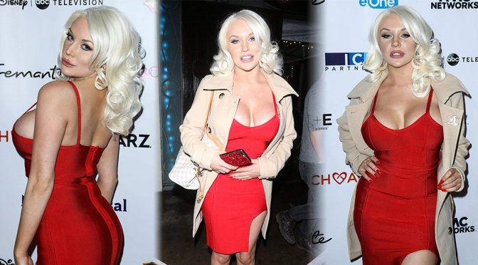 Courtney Stodden – 16th Annual JHRTS Holiday Celebration in Hollywood