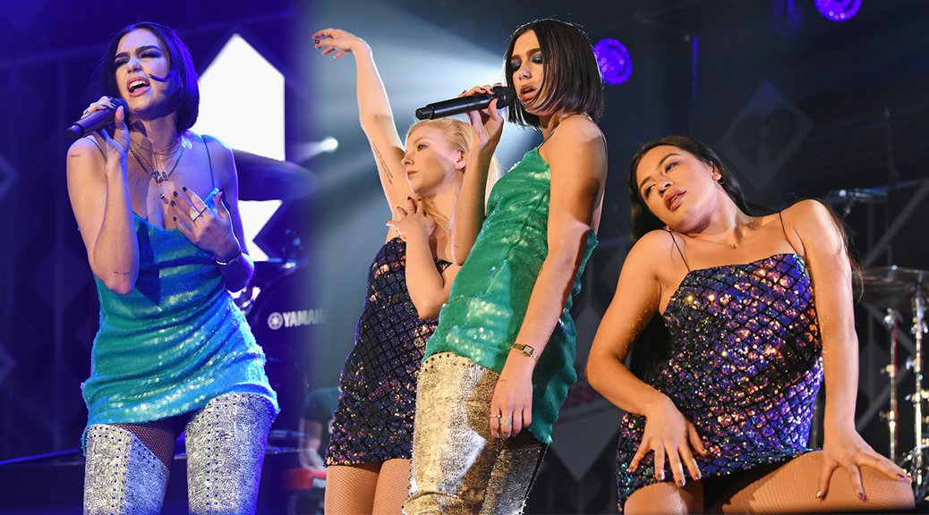 Dua Lipa - 103.5 KISS FM's Chicago Jingle Ball 2018 in Chicago