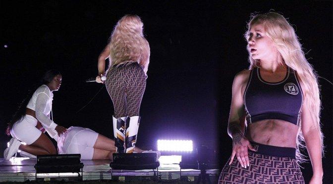 Iggy Azalea Performing Live in Rio de Janeiro