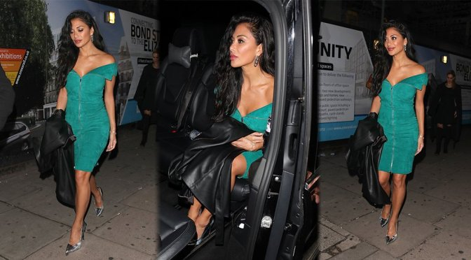 Nicole Scherzinger – Sexy Candids at Tape Nightclub in London