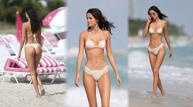 Sofia Resing – Bikini Candids in Miami