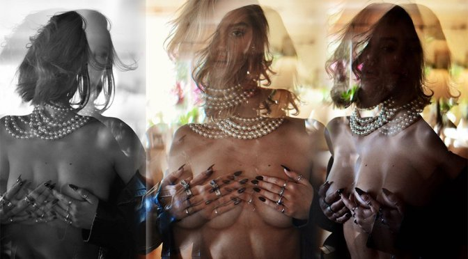 Delilah Belle Hamlin – Topless Photoshoot by Amaury Nessaiba