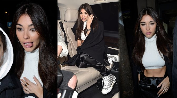 Madison Beer – 1017 ALYX 9SM Fashion Show in Paris