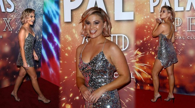 Olivia Holt – New Year's Party at APEX Social Club in Las Vegas