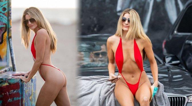 """Rachel McCord – """"Voir"""" Eyewear Photoshoot in Venice Beach"""