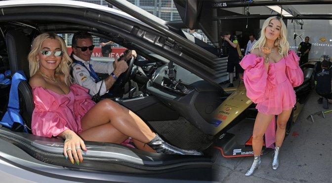 Rita Ora – ABB FIA Formula E Antofagasta Minerals Santiago E-Prix