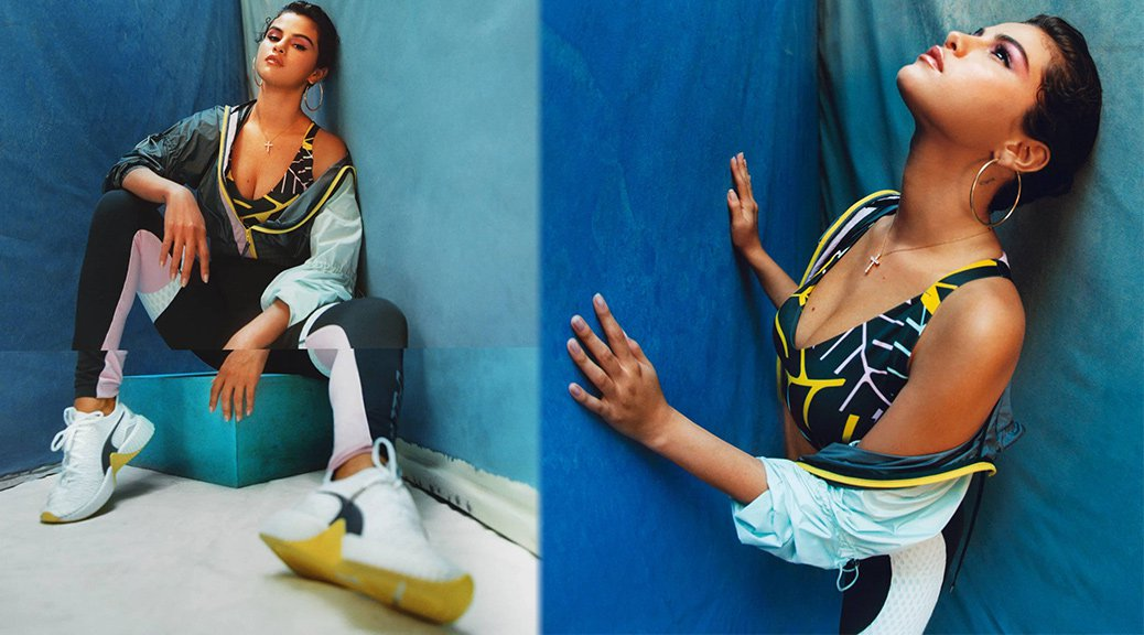 Selena Gomez - Puma Defy Trailblazer Photoshoot 2019