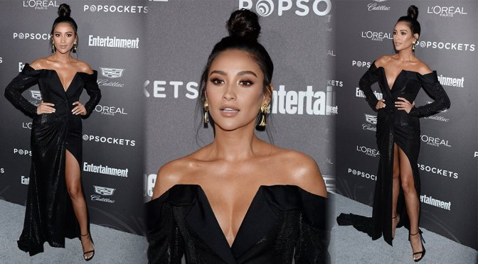 Shay Mitchell – Entertainment Weekly SAG Awards Pre-Party in Los Angeles