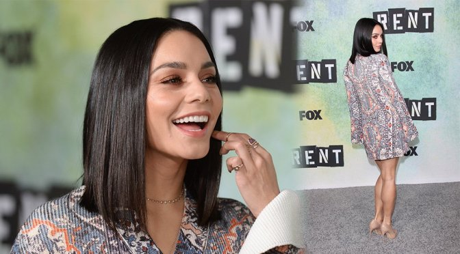 Vanessa Hudgens – 'Rent: Live' Photocall in Los Angeles