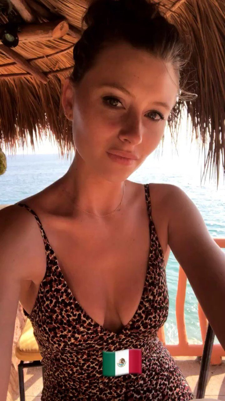 Alyson Aly Michalka Swimsuit