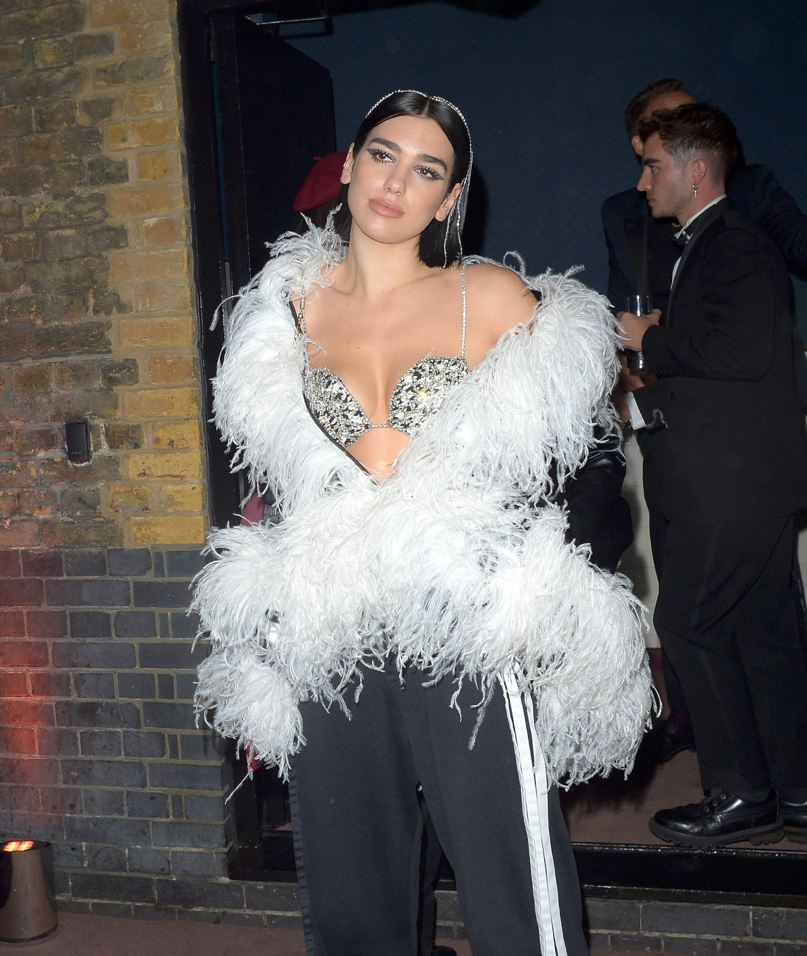 Dua Lipa – The BRITs Warner Music After-Party in London